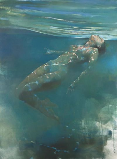 Serene Reflections (Figurative) by Bill Bate, Chelmer Fine Art Galleries Buying and Selling Art Around The World, Exhibitions, CONTEMPORARY, DOGS, FIGURATIVE, FLORAL, HUMOUR, LANDSCAPE, MOTORSPORT, ORIGINALS, WILDLIFE
