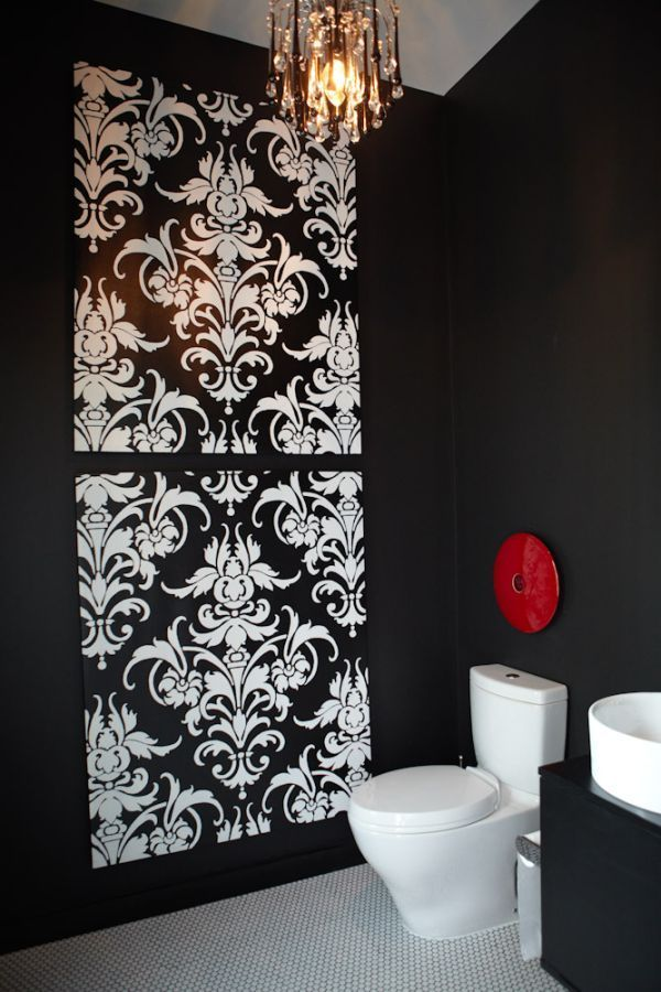 LOVE this for the bathroom...I might have to copy