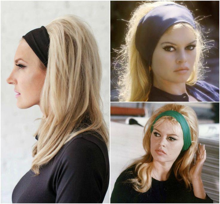 Neue Frisuren 2017 Brigitte Bardot Frisur Im Trend Ideen Und Anleitung Zum Nac Haarband Frisur Anleitung Toupierte Haare Haarband Frisur