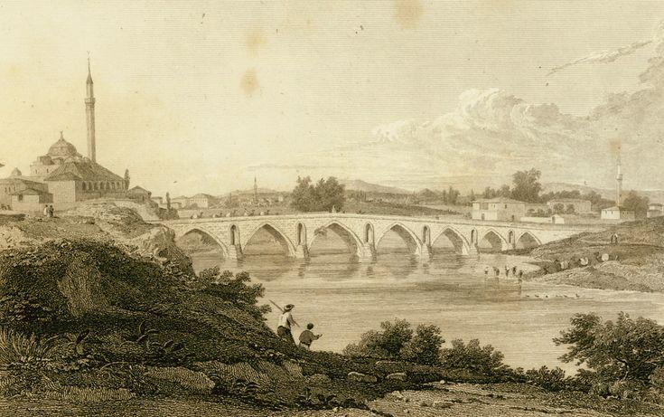 Γέφυρα στη Λάρισα. - DODWELL, Edward - ME TO BΛΕΜΜΑ ΤΩΝ ΠΕΡΙΗΓΗΤΩΝ - Τόποι - Μνημεία - Άνθρωποι - Νοτιοανατολική Ευρώπη - Ανατολική Μεσόγειος - Ελλάδα - Μικρά Ασία - Νότιος Ιταλία, 15ος - 20ός αιώνας