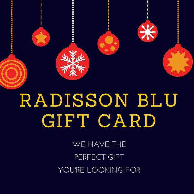 Nie zastanawiaj się dłużej na prezentem. Podaruj bliskim przyjemność na którą zasługują - podaruj kartę podarunkową #RadissonBlu  Szczegóły znajdziesz tu: http://www.radissonblu.com/giftcard