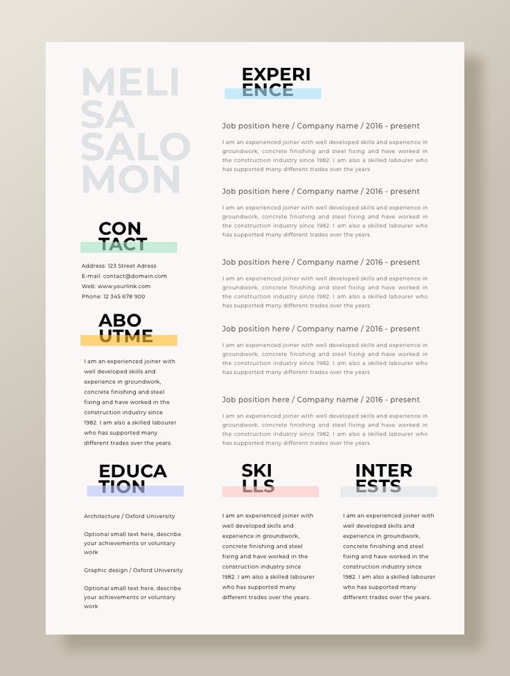 Creative and professional resume template in microsoft word. Cv with modern and clean design. Simple, clean, minimal and feminine style for your inspiration. #resume #microsoftword #cv #resumes #resumetemplate #curriculum #cv #msword #word #microsoftword #template #resumetemplate #mac #editable #downloadable #professional #creative #simple #modern #unique #clean #simple #best #teacher #nursing #administrative #fashion #office #college