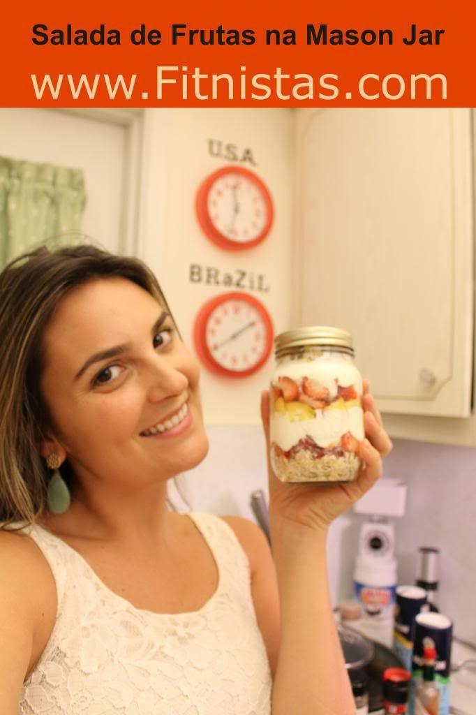 Receita: Salada de Frutas in a Jar