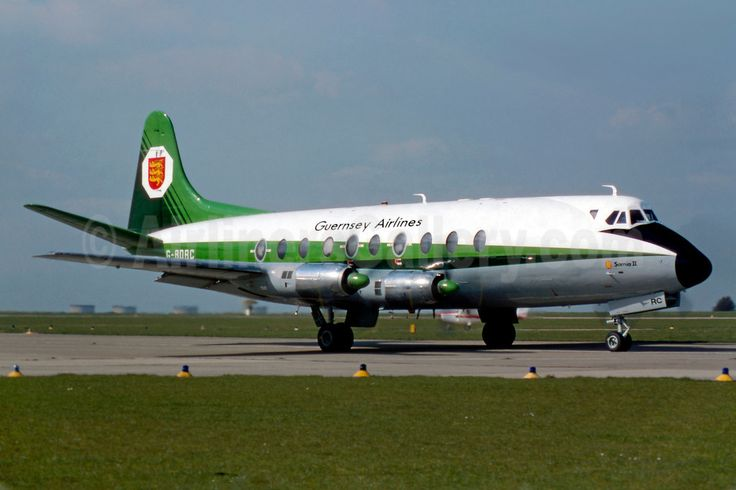 Guernsey Airlines Vickers Viscount 724 G-BDRC