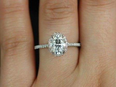 1 carat oval engagement ring - Google Search