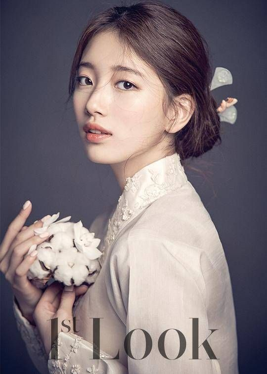 "Suzy Bae Shows Her Historical Look for ""Dorihwaga"" on ""1st Look"" Pictorial 