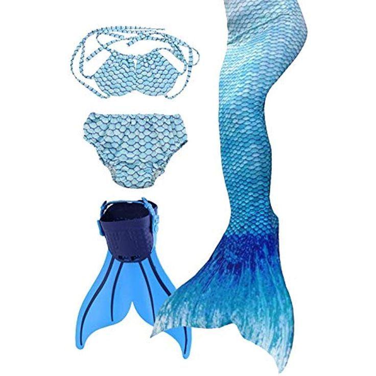 Flyhigh Meerjungfrauenflosse f/ür Kinder Schwimmen mit