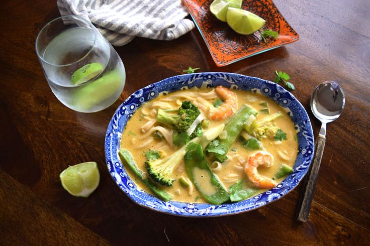 A gorgeous, light albeit filling glimpse into Thailand. This Laksa is packed with gluten free noodles and lots of veggies with a beautiful prawn every other mouthful. Ready in 20 minutes and just $7 a serve.