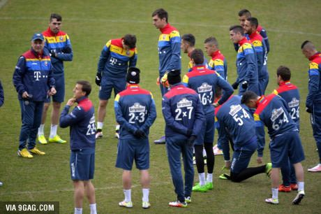 Romania's National Football team wearing math calculations instead of numbers to promote math to kids