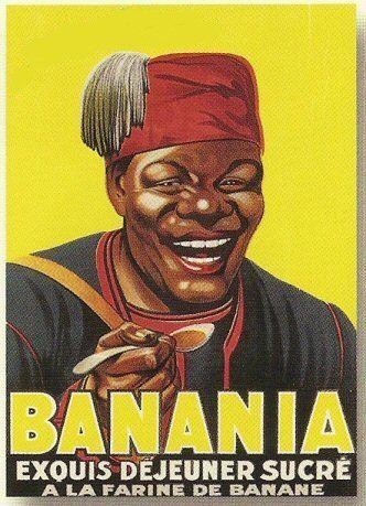 PLAQUE METAL 20X15cm PUB RETRO CHOCOLAT BANANIA EXQUIS: Amazon.fr: Cuisine & Maison
