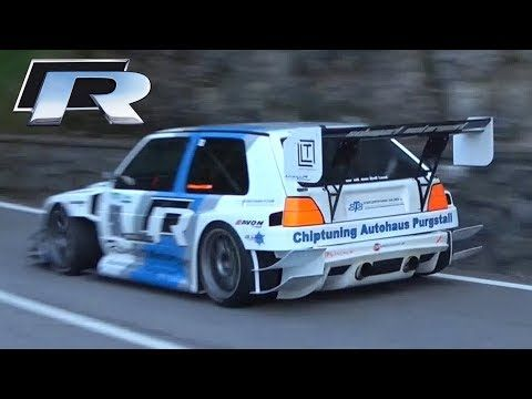 600HP VW Golf MK2 'TFSI-R' 2.0 TFSI Engine Swap Hillclimb Monster! – Cars-Power