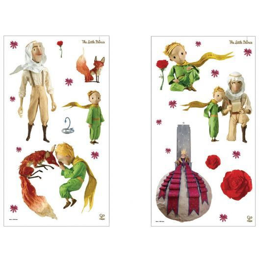 Here are beautiful wall stickers of characters from the movie The Little Prince ! Offer them to your children so that he can decorates himself his bedroom !