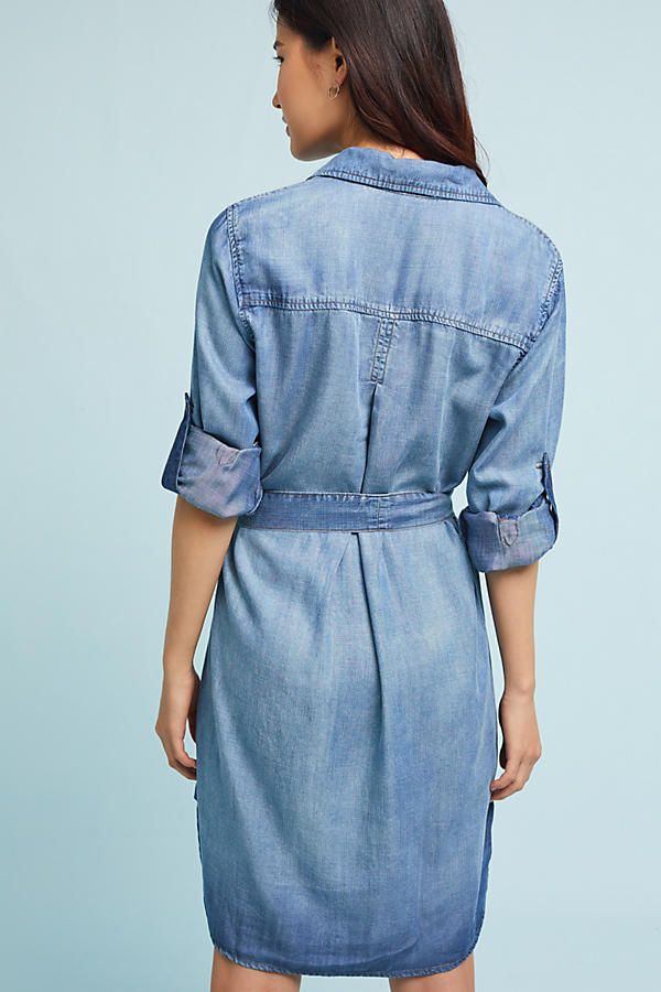 Cloth & Stone Chambray Shirt Dress from Anthropologie