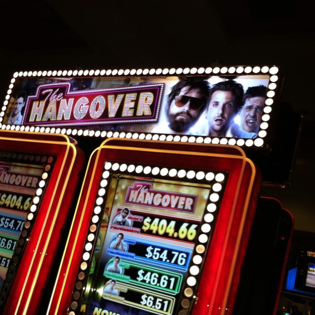 The Hangover movie slot machine at Sycuan Casino