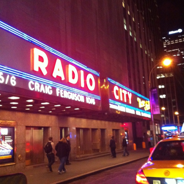 NYC - Radio City Music Hall. #picsfromyiphone