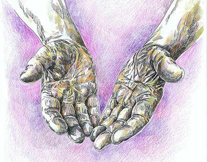 """Check out new work on my @Behance portfolio: """"Ilustração Livro """"O poder das mãos vazias"""""""" http://be.net/gallery/53251197/Ilustracao-Livro-O-poder-das-maos-vazias"""