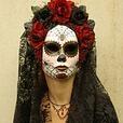 Viuda Negra Mask for Day of the Dead/Dia de los Muetos/Cosplay