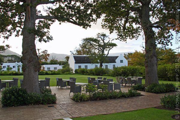 Graham Beck Wine Estate, Robertson, South Africa. Great sparkling wine