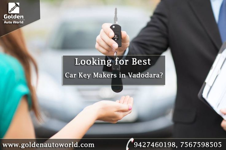 Looking for #CarKey_Makers in #Vadodara? Here at Golden Auto World, Vadodara - we have a team of choice when you need a key replacement after you lost keys to your car. Since we are open 24 hours, 7 days a week, every single day of the year. And we're open even if it's a holiday. Contact us for more details and solution - 9427460198, 7567598505