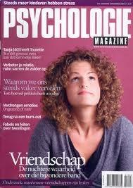 Niet alleen thrillers lees ik graag. Het tijdschrift 'Psychologie' valt ook elke maand op de deurmat.