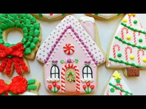 Flour Box Bakery — Day 4 of Cookie Videos: How to Decorate a Gingerbread House