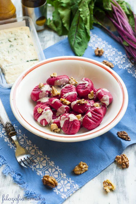 Gnocchi buraczane/Pink Beetroot Gnocchi