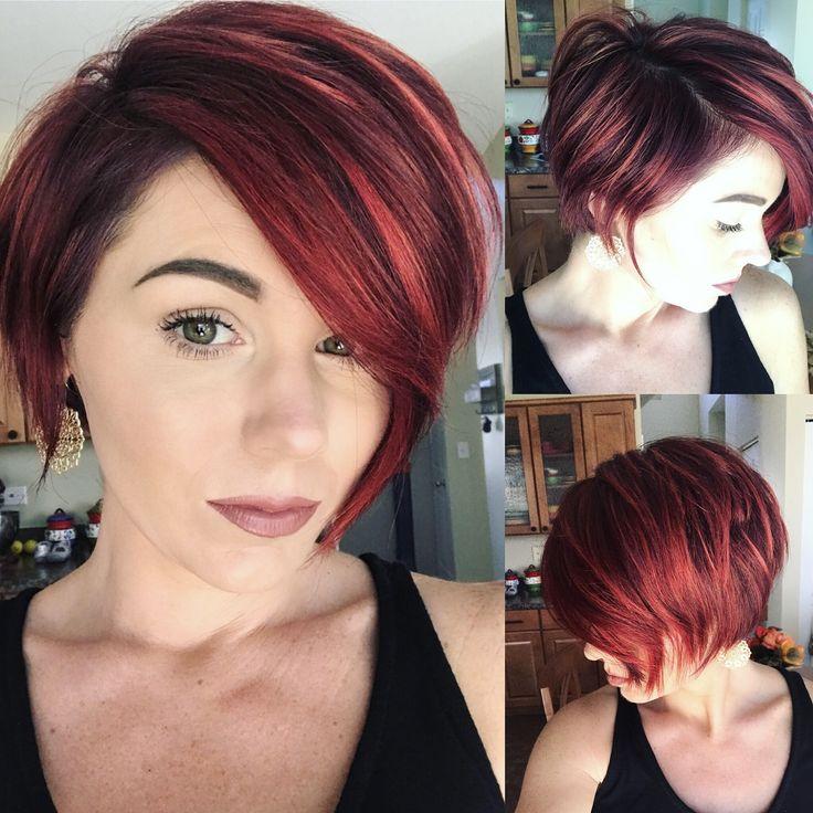 #shorthair #bob #pixie #redhair