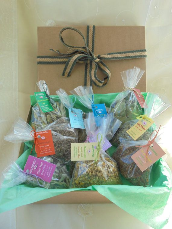Greek Dried Herbs Collection  10 Different Herbs  by MelirrousBees