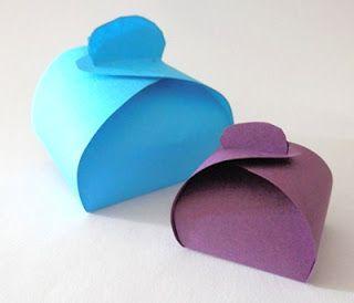 DIY : Boite cadeau express faite avec Laetitia