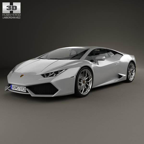 lamborghini huracan 2015 3d model download models and from
