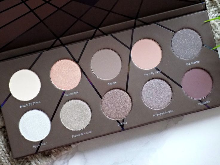 Zoeva 'En Taupe' palette - review and swatches