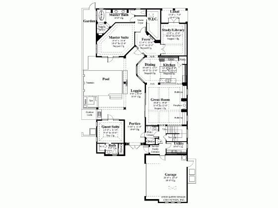 Arabian Style House Plans