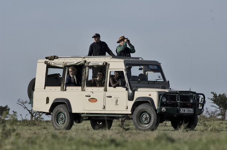 typical safari vehicle - suggest we have a few of these in the car park.