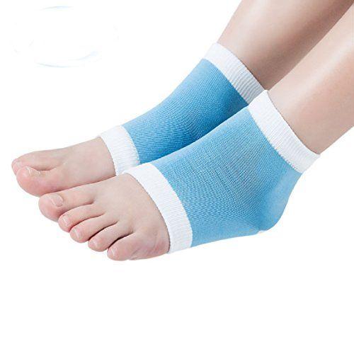 GEL Heel Socks for Dry Hard Cracked Skin Moisturising Open Toe Comfy Recovery Socks Beaut (TM) http://www.amazon.com/dp/B00GUNYDAE/ref=cm_sw_r_pi_dp_4U-yvb1V05XDR