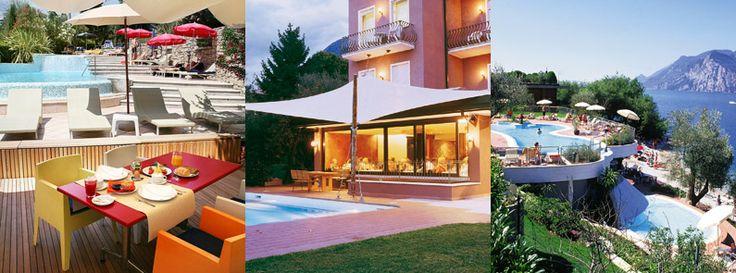 Familienfreundliche Hotels am Gardasee in Malcesine mit Privatstrand, Restaurants und Schwimmbad, mehr Info spiaggia@ambienthotel.it
