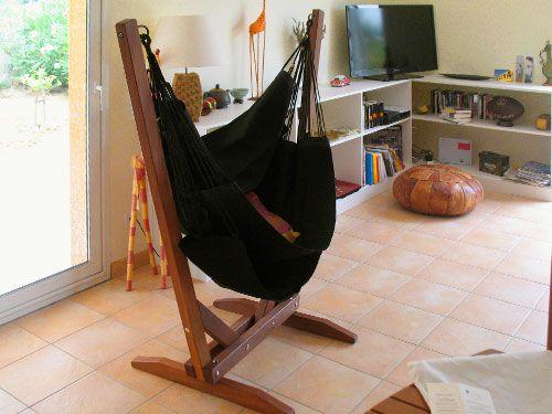les 25 meilleures id es de la cat gorie support pour hamac sur pinterest hamac en plein air. Black Bedroom Furniture Sets. Home Design Ideas