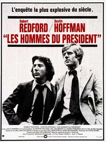 Les Hommes du Président : affiche