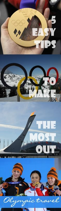 Going to the Olympics in Rio? Dreaming of making your Olympic dream come true? I did. But the Olympics are overwhelming. That's why I give you mt 5 easy tips to make the most out of your Olympic travel.