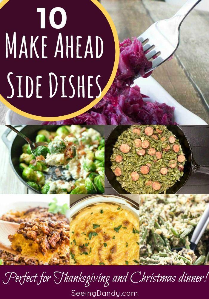 Christmas Side Dishes Pinterest.10 Make Ahead Christmas Side Dishes Side Dish Recipes