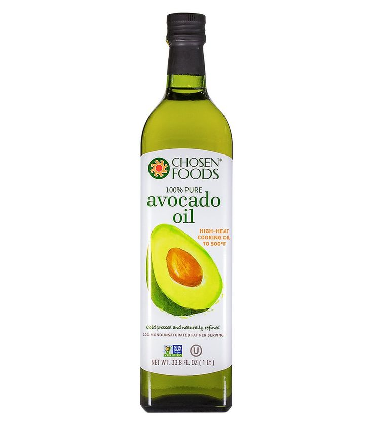 Naturally Refined Avocado Oil For Skin