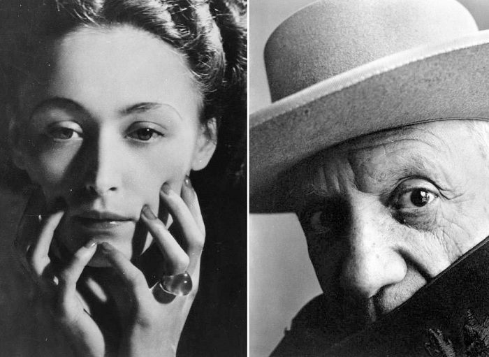 Дора Маар и Пабло Пикассо. | Фото: sbj-bg.eu.