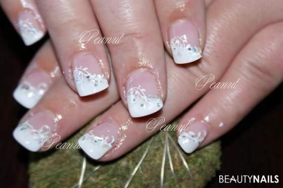 ongles de mariage | Wedding Nails gel ongles – une super bonne amie, elle a …   – Nägel Meister