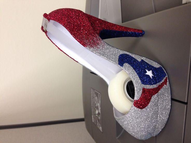 Tape dispenser houston football team office texans DIY
