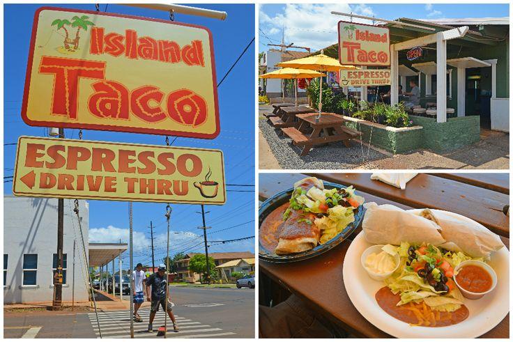 Island Taco - Places to eat in Kauai