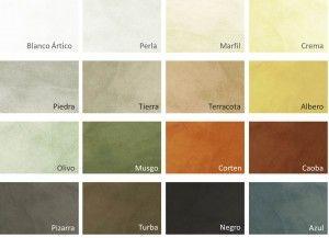 Microcemento Colores