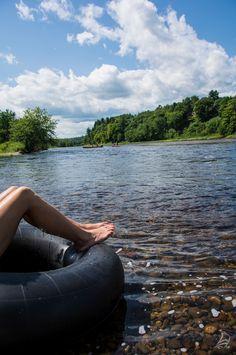 There's no better place to relax in the warm summer sunshine than the Miramichi River in New Brunswick, Canada. #ExploreNB #ExploreCanada