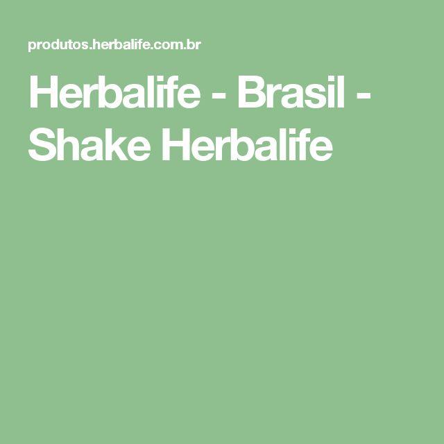 Herbalife - Brasil - Shake  Herbalife