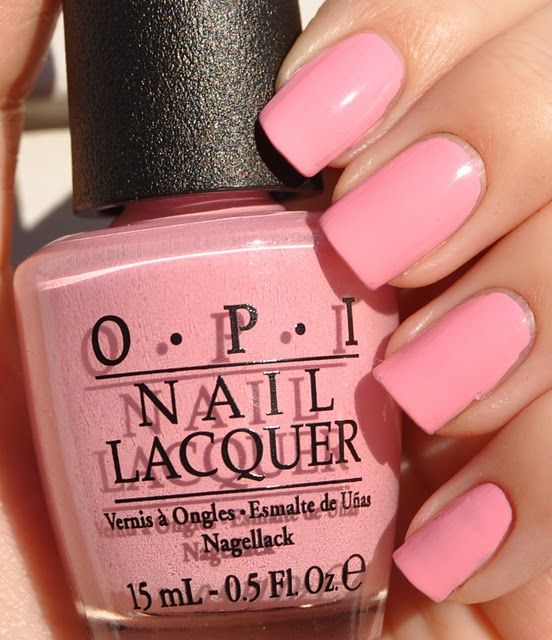 matte nail polish opi pink friday niki minaj collection paint 12437