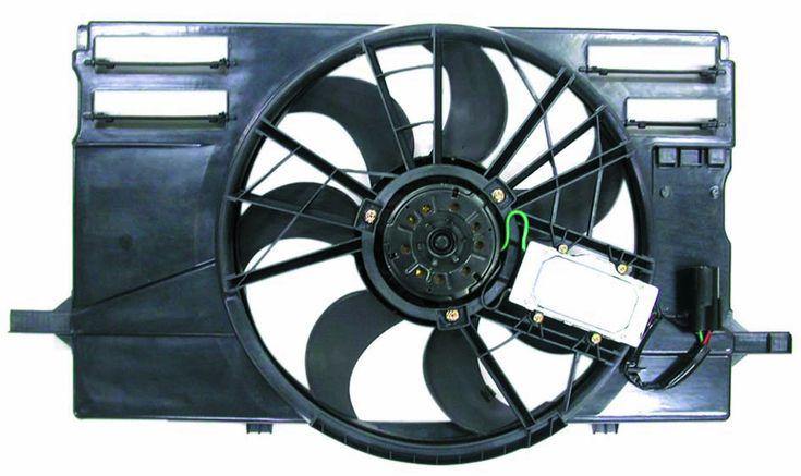Volvo S40 04-07 / V50 05-06 Radiator AC Fan Assembly