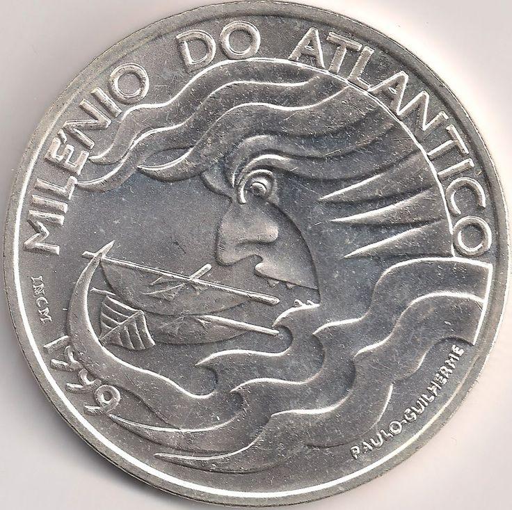 Motivseite: Münze-Europa-Südeuropa-Portugal-Escudo-1000.00-1999-Milénio do Atlântico